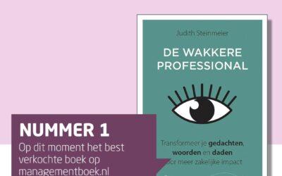 'De wakkere professional' staat op #1 bijManagementboek!
