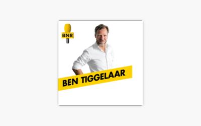 Ben Tiggelaar interviewt mij over mijn boek op BNR Nieuwsradio!
